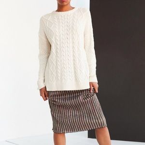 Urban Outfitters bdg cableknit sweater S Small